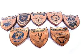 An assortment of Operations Plaques, to include Ranger, Thrasher, Tangent, Splinter, Grapple and