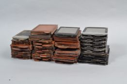 A Large Quantity of Assorted DDS Plate Holders, various sizes, mostly quarter plate (4¼ x 3¼in), (30