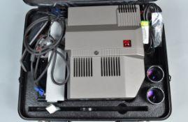 A Rollei Twin MSC 300 P Slide Projector, G-VG, untested, with Schneider Kreuznach AV-Xenotar 90mm