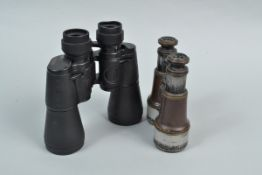 Two Pairs of Binoculars, a pair of Infravision 20 x 50 binoculars, body G, elements G and a pair