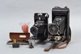 A No 1A Autographic Kodak Special Folding Camera, with a Bausch-Lomb Kodak Anastigmat f/6.3 lens and
