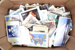 A Tray of Colour Postcards, assorted, mainly British subjects, travel, historical and cultural, some