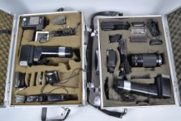 Various Accessories, including a Metz 45 CT-1 and 45 CT-5 flash units, a Starblitz 1000 Auto Macro-