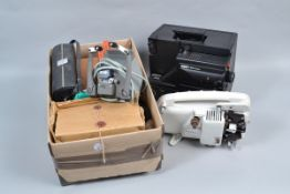 Eumig and Canon Super 8 Equipment, a Eumig S 934 Automix sound projector with 17-34 mm f/1.4 lens,