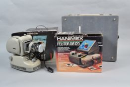Rollei and Noris Slide Projectors and Other Photographica, including a Rollei P350A slide projector,