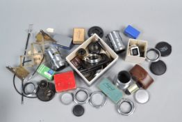 Lens and Camera Accessories, including close-up accessories, caps, extension tubes, frame finders,