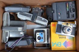 Instant and Polaroid Cameras, Kodak EK2, EK4, EK100, EK160, Kodamatic 970L, Polaroid Colorpack 11, a