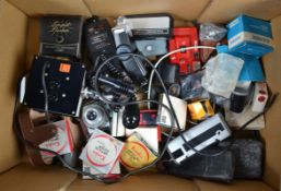 Cameras and Accessories, an Agilux Agimatic 35mm uncoupled rangefinder camera, shutter working, a