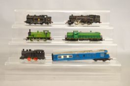 Six unboxed OO Gauge Locomotives, including a Hornby Dublo 20738, etc.