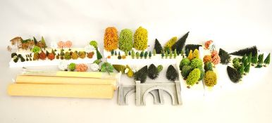 A Large Quantity of HO Model Railway Layout Accessories, Including Piko 62823, Con Cor B804,