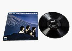 N.S.U. LP, Turn On Or Turn Me Down LP - Original UK Stereo release 1969 on Stable Records (SLE 8002)