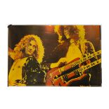 Led Zeppelin Posters, Five Led Zeppelin posters comprising Jimmy Page (Big O Posters circa 1976-77),