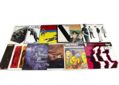 Punk / Mod / 2 Tone LPs, seventeen albums of mainly Punk, Mod, New Wave and 2 Tone with artists