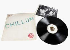 Chillum LP, Chillum - Original UK release 1971 on Mushroom (100 MT 11) - Plain printed Sleeve with