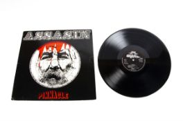 Pinnacle LP, Assasin LP - Original UK Private release 1974 on Stag Music (HP 12 SL) - Silver on