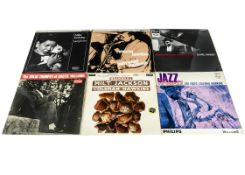 Jazz LPs, approximately eighty albums of mainly Jazz with artists including Cootie Williams, Boots