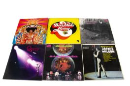Rock / Sixties LPs, approximately fifty albums of mainly Sixties and Rock artists including Jimi