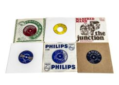 """Sixties 7"""" Singles, approximately one hundred and forty 7"""" singles, mainly from the Sixties with"""