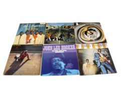 Soul / Blues LPs, approximately sixty albums of mainly Soul, Motown and Blues with artists including