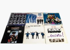Sixties LPs, ten albums of mainly Sixties artists comprising The Beatles (Beatles For Sale, Help,