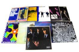 Sixties LPs, ten albums of mainly Sixties artists comprising Beatles, Rolling Stones, Wilson