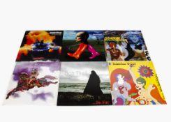 Progressive Rock LPs, ten reissue albums of mainly Progressive Rock comprising Bread, Love and
