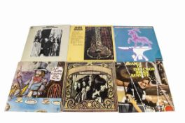 Sixties LPs, approximately eighty albums of mainly Sixties artists including Bob Dylan, Buffalo