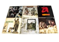 Rock / Prog LPs, approximately sixty albums of mainly Progressive and Classic Rock with artists