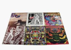 Psychedelic LPs, fifteen albums of mainly Psychedelic and Freakbeat Compilations including