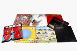Talking Heads / David Byrne LPs, eight albums comprising 77, Fear of Music, More Songs About