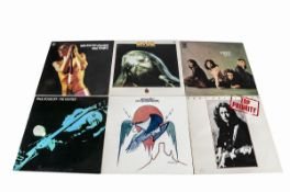 Rock LPs, approximately eighty albums of mainly Classic and Heavy Rock with artists including Rory
