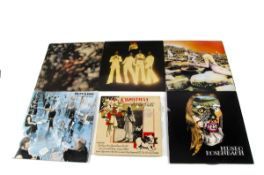 Rock / Prog LPs, approximately thirty albums of mainly Progressive and Classic Rock with artists