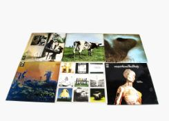 Pink Floyd LPs, Six albums comprising More (Laminated Non-Flipback Sleeve with Black tinted rear and