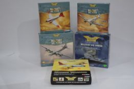 Corgi Aviation Archive 1:144 Scale Military Aircraft, five boxed limited edition examples