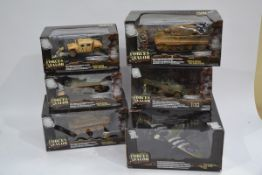 Forces of Valor 1:32 Scale Military Vehicles, a boxed group of six comprising, 86000 MKIV Spitfire
