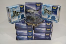 Corgi Aviation Archive 1:72 Scale Jet Fighter Power Series Aircraft, ten boxed limited edition