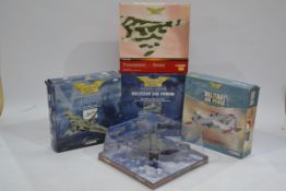 Corgi Aviation Archive Vulcan and Other Military Aircraft, five boxed limited edition examples 1:144