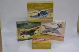 Corgi Aviation Archive 1:72 Scale Military Aircraft, four boxed limited edition examples Suez Crisis