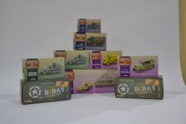 Corgi WWII 1:50 Scale Military Vehicles, a boxed group of nine comprising D Day 60th Anniversary