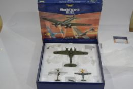 Corgi Aviation Archive 1:72 Scale Blitz Set, a boxed limited edition AA99127 set including Heinkel