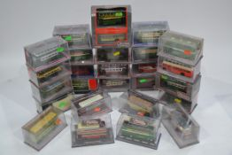 Corgi Original Omnibus Vintage Double Decker Buses, a mainly cased collection some with card sleeves