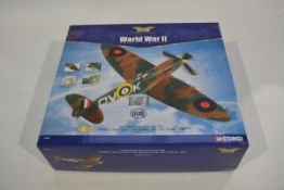 Corgi Aviation Archive 1:32 Scale Supermarine Spitfire, A boxed limited edition AA33902 Spitfire