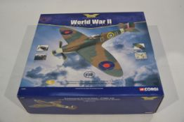Corgi Aviation Archive 1:32 Scale Supermarine Spitfire, A boxed limited edition AA33903 Spitfire