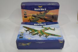 Corgi Aviation Archive 1:72 Scale Europe and Africa Lancasters, two boxed limited edition models,