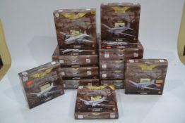 Corgi Aviation Archive 1:144 Scale Frontier Airliners, twelve boxed examples comprising Lockheed