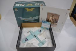 Corgi Aviation Archive 1:32 Scale 70 Years of The Spitfire, A boxed limited edition AA33908 Spitfire