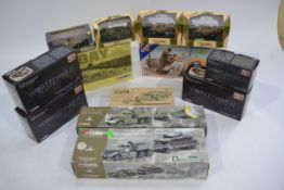 Corgi and Other WWII and Later Military Vehicles, a boxed group including Corgi World War II