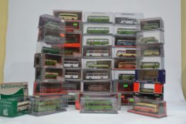 Corgi Original Omnibus Vintage Single Decker Buses and Coaches, a mainly cased collection some