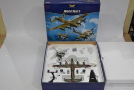 Corgi Aviation Archive 1:72 Scale Europe and Africa Bomber and Fighter Set, a boxed limited