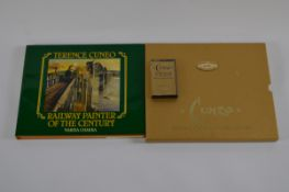 Terence Cuneo Railway Painter of The Century limited edition book, By Narisa Chakra, edition 581/